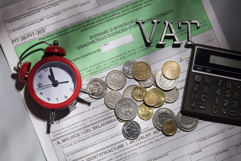 obliczanie podatku VAT